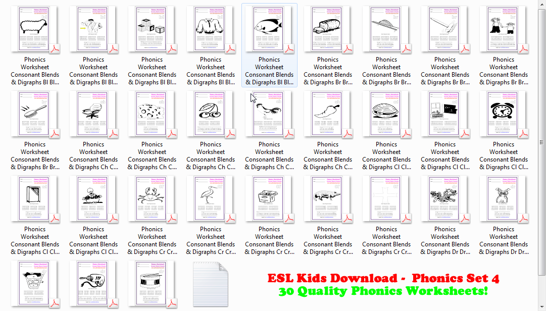Esl Downloads Kids Puzzles Flashcards Board Templates. Esl Phonics Workbook 4 Consonant Blends Diagraphs. Kindergarten. Esl Worksheets For Kindergarten Pdf At Mspartners.co